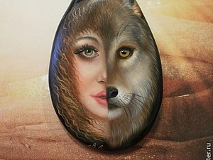 ...оазис одинокой волчицы... | Ярмарка Мастеров - ручная работа, handmade