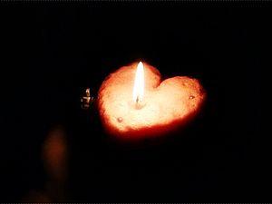 Романтичная, воздушная свеча ручной работы | Ярмарка Мастеров - ручная работа, handmade