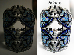 ��������� ������ ���������� � 4 ������, ������-����� | ������� �������� - ������ ������, handmade