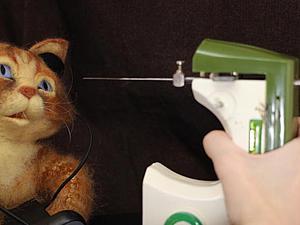 Электрическая машинка для сухого валяния своими руками. Реинкарнация игрушечной швейной машинки. Ярмарка Мастеров - ручная работа, handmade.