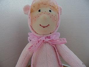 Новый тедди Гном розовый | Ярмарка Мастеров - ручная работа, handmade