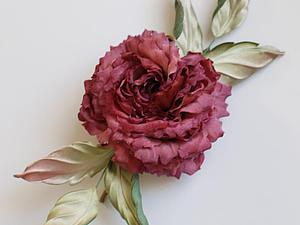 Особенности окрашивания шелковых цветов. Ярмарка Мастеров - ручная работа, handmade.
