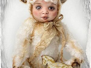 Субботний Аукцион на милого тедди-долл Савелия!!! | Ярмарка Мастеров - ручная работа, handmade