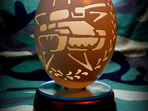 Осваиваем резьбу по гусиному яйцу | Ярмарка Мастеров - ручная работа, handmade