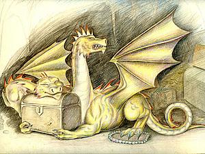 Змей Горыныч: в Русских Сказках | Ярмарка Мастеров - ручная работа, handmade