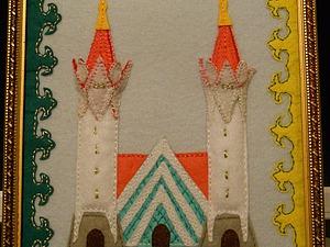 """""""Рисуем"""" картину из фетра для мамочки. Ярмарка Мастеров - ручная работа, handmade."""