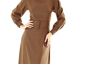 -50% на ХИТЫ! Платья из 100% итальянской коллекционной шерсти!   Ярмарка Мастеров - ручная работа, handmade