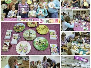 Отчет о необычном совместном мастер-классе для детей и их родителей (декупаж + скрапбукинг) | Ярмарка Мастеров - ручная работа, handmade