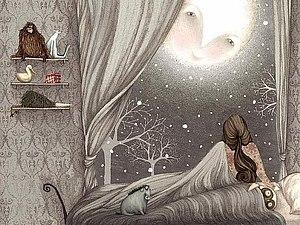 Женщина - ночь | Ярмарка Мастеров - ручная работа, handmade