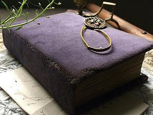Делаем состаренный блокнот   Ярмарка Мастеров - ручная работа, handmade
