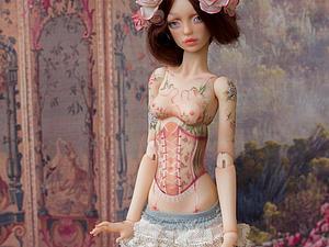 Роза, кукла на Международном Салоне кукол в Москве   Ярмарка Мастеров - ручная работа, handmade