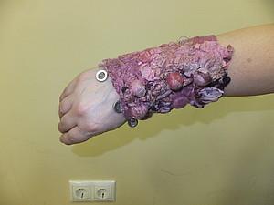 Подарок к 8 марта. Браслет с шибори   Ярмарка Мастеров - ручная работа, handmade