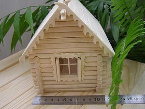 Этапы стройки домика   Ярмарка Мастеров - ручная работа, handmade