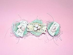 Как сделать милое гнездышко из сизаля. Ярмарка Мастеров - ручная работа, handmade.