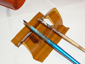 Как сделать подставку под кисти. Ярмарка Мастеров - ручная работа, handmade.