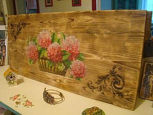 панно Гортензии на видео | Ярмарка Мастеров - ручная работа, handmade