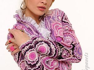 Публикация жакета-фриформ в 583 номере Журнала Мод | Ярмарка Мастеров - ручная работа, handmade