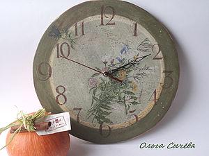 Часы в стиле Кантри. | Ярмарка Мастеров - ручная работа, handmade