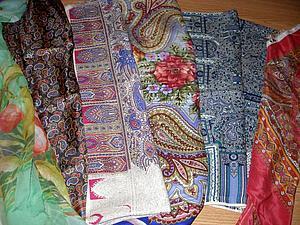 Мастер-класс по работе с павловопосадскими платками в технике мокрого валяния | Ярмарка Мастеров - ручная работа, handmade