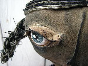 Живые Глаза тряпичной кукле из обычной Муки!  Элементарно! | Ярмарка Мастеров - ручная работа, handmade