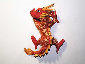 Видео мастер-класс: создаём китайского дракона из самозастывающей глины. Ярмарка Мастеров - ручная работа, handmade.