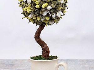 Топиарий. Дерево счастья. | Ярмарка Мастеров - ручная работа, handmade