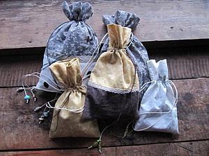 Тысяча и один мешочек. Уютная упаковка своими руками | Ярмарка Мастеров - ручная работа, handmade