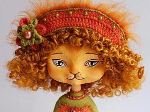 Создание сувенирной куклы-кошечки: лепка мордочки и лапок | Ярмарка Мастеров - ручная работа, handmade