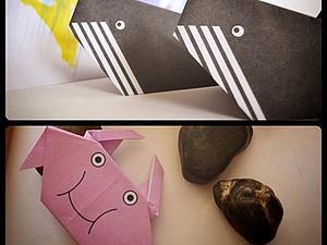 """""""Оригами. Делаем фигурки обитателей морского мира"""". Часть 1. Ярмарка Мастеров - ручная работа, handmade."""