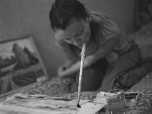 Кисточка послушная губам , уникальная художница Наталия Жижилева ! | Ярмарка Мастеров - ручная работа, handmade