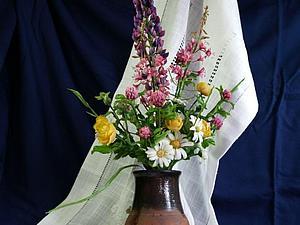 Люпин из полимерной глины. МК. 1 место. | Ярмарка Мастеров - ручная работа, handmade