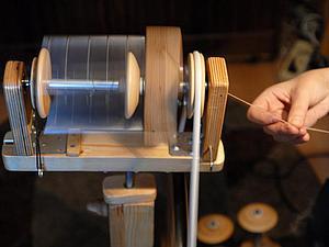 как прясть пряжу на электропрялке