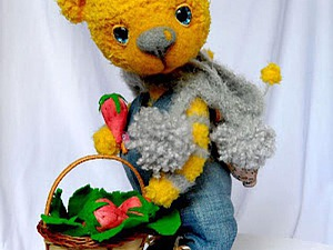 Армирование лап вязаным медведям Тедди. Ярмарка Мастеров - ручная работа, handmade.
