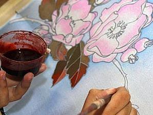МК по холодному батику | Ярмарка Мастеров - ручная работа, handmade