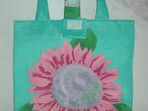 Шьем сумочку для заколок и резинок маленькой принцессе. Ярмарка Мастеров - ручная работа, handmade.