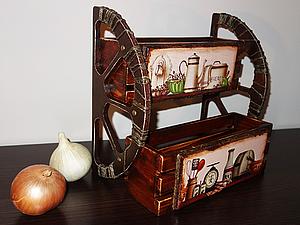 Декорируем подставку для соусов и специй. Ярмарка Мастеров - ручная работа, handmade.