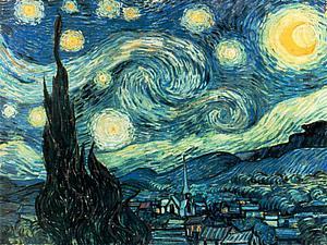 В стиле Ван Гога | Ярмарка Мастеров - ручная работа, handmade