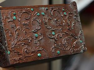 Объемный декупаж часов или шкатулки (на выбор) | Ярмарка Мастеров - ручная работа, handmade
