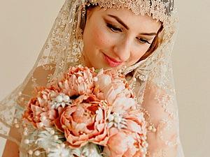 Роскошно, потрясающе, волшебно: свадебные букеты от Hair Bows Wonderworld   Ярмарка Мастеров - ручная работа, handmade
