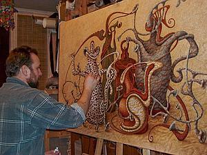 Утонченный фантастический реализм в картинах Бориса Индрикова | Ярмарка Мастеров - ручная работа, handmade