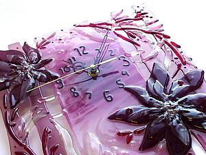 Создаем часики «Лиловое настроение» | Ярмарка Мастеров - ручная работа, handmade