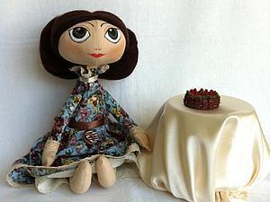 Текстильная кукла для начинающих, часть I.   Ярмарка Мастеров - ручная работа, handmade