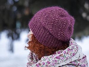 Мастер-класс по шапке Шале   Ярмарка Мастеров - ручная работа, handmade