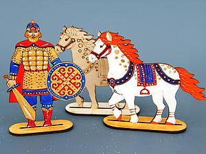 Мастер-классы для взрослых и детей по росписи деревянной, текстильной и керамической игрушки   Ярмарка Мастеров - ручная работа, handmade