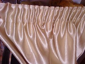 МК как собрать шторы на тесьме. Ярмарка Мастеров - ручная работа, handmade.