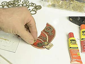 Видео мастер-класс: новогодняя игрушка «Дирижабль» в стиле стимпанк. Часть 4. Ярмарка Мастеров - ручная работа, handmade.