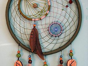 Ловец снов своими руками! | Ярмарка Мастеров - ручная работа, handmade