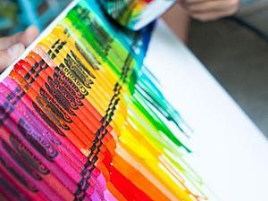 Найдено на просторах интернета. Яркий креатив с материалами из детства | Ярмарка Мастеров - ручная работа, handmade