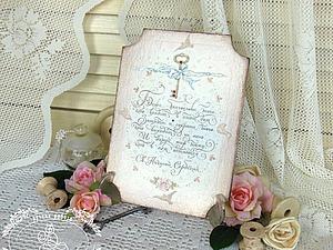 Декор панно «Благословение». Ярмарка Мастеров - ручная работа, handmade.