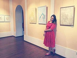 Фотоотчет с  юбилейной выставки членов НРОО